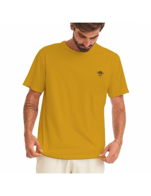 Camiseta do Bem Unissex - Amarela