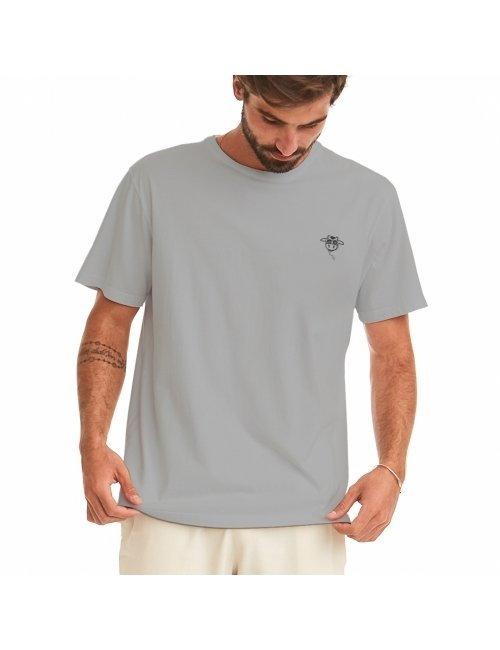 Camiseta do Bem Unissex - Cinza