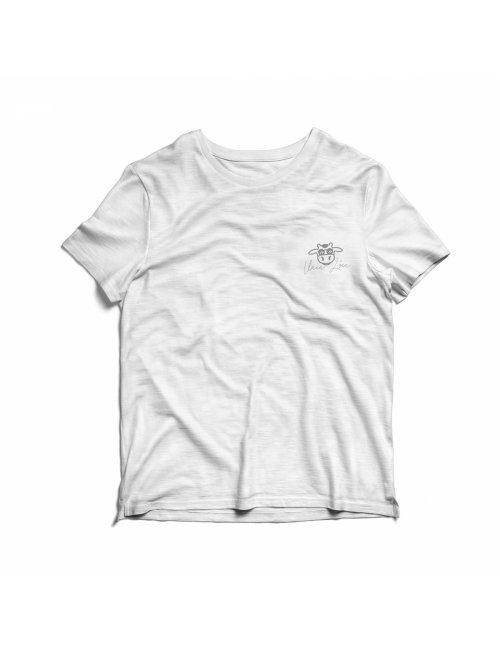 Camiseta Infantil Vaca Lôca - Branca