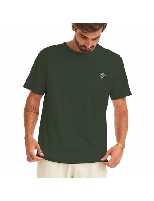 Camiseta do Bem Unissex - Verde Escuro