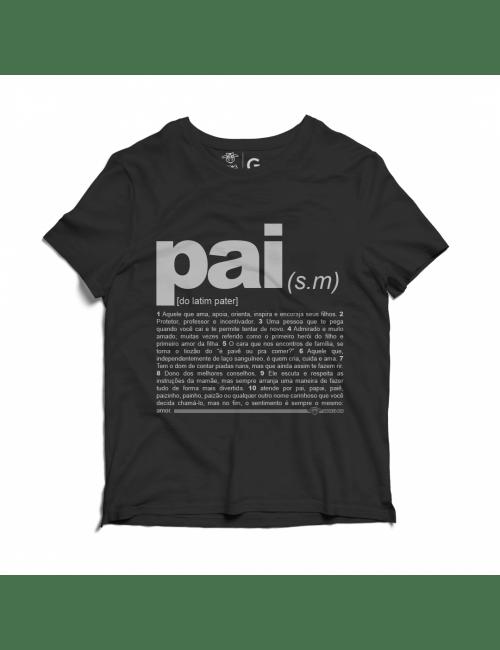 Camiseta Vaca Lôca Pai - Preta