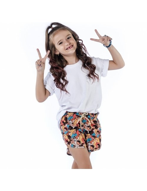 Shorts de Praia Infantil Feminino Blandine - Personnes