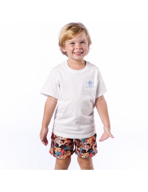 Shorts de Praia Infantil Masculino Blandine - Personnes