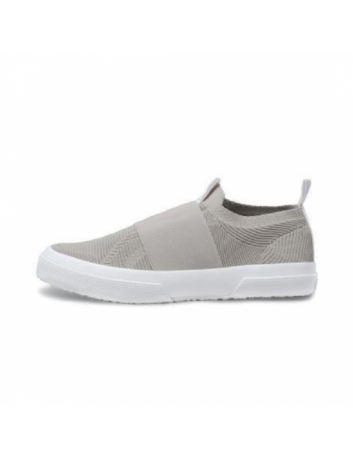 SUPERGA 2750 Knit Slip On - Light Grey