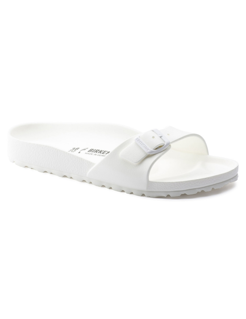 BIRKENSTOCK - Sandália Madrid Essentials EVA - White