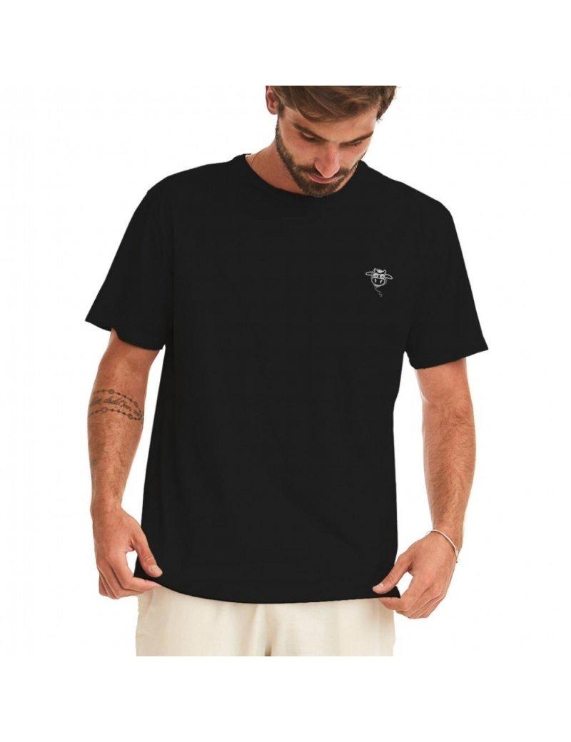 Camiseta do Bem Unissex - Preto Reativo