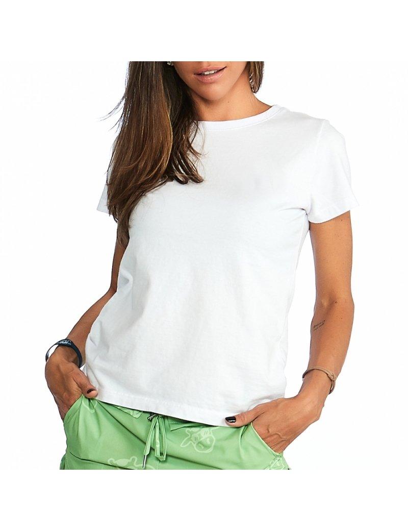 Camiseta Feminina - Branca Lisa