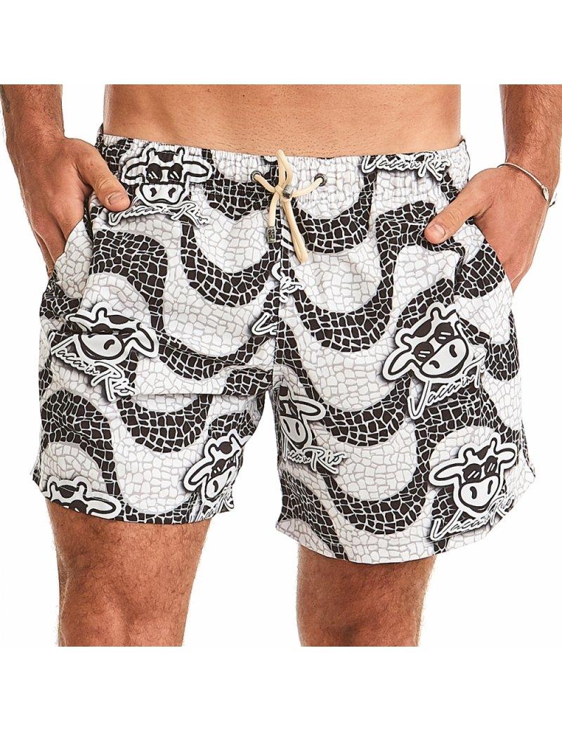 Shorts de Praia Masculino - Calçada Copacabana
