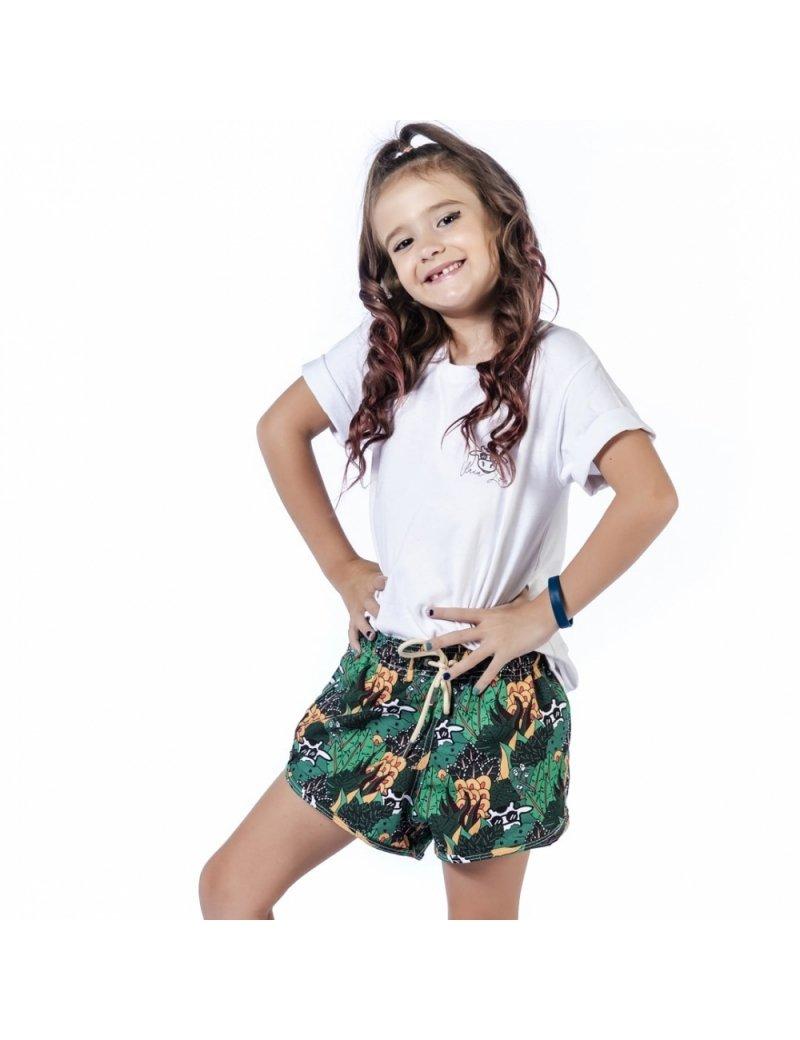 Shorts de Praia Infantil Feminino Blandine - Amazonie