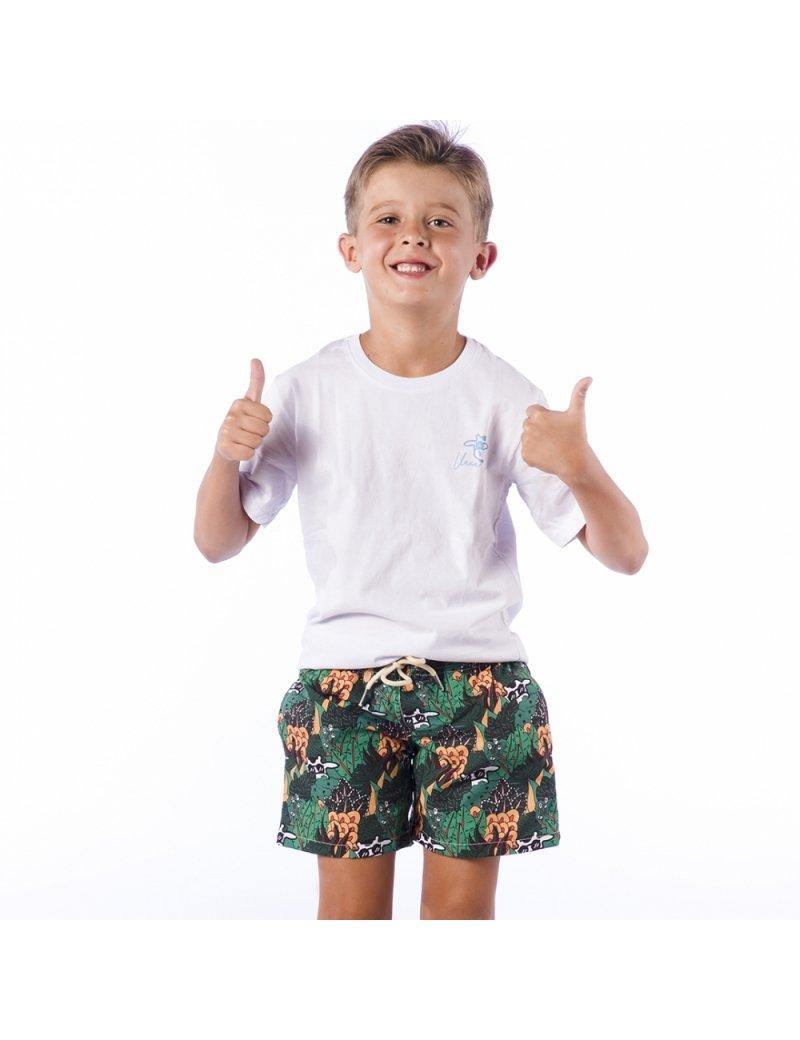 Shorts de Praia Infantil Masculino Blandine - Amazonie