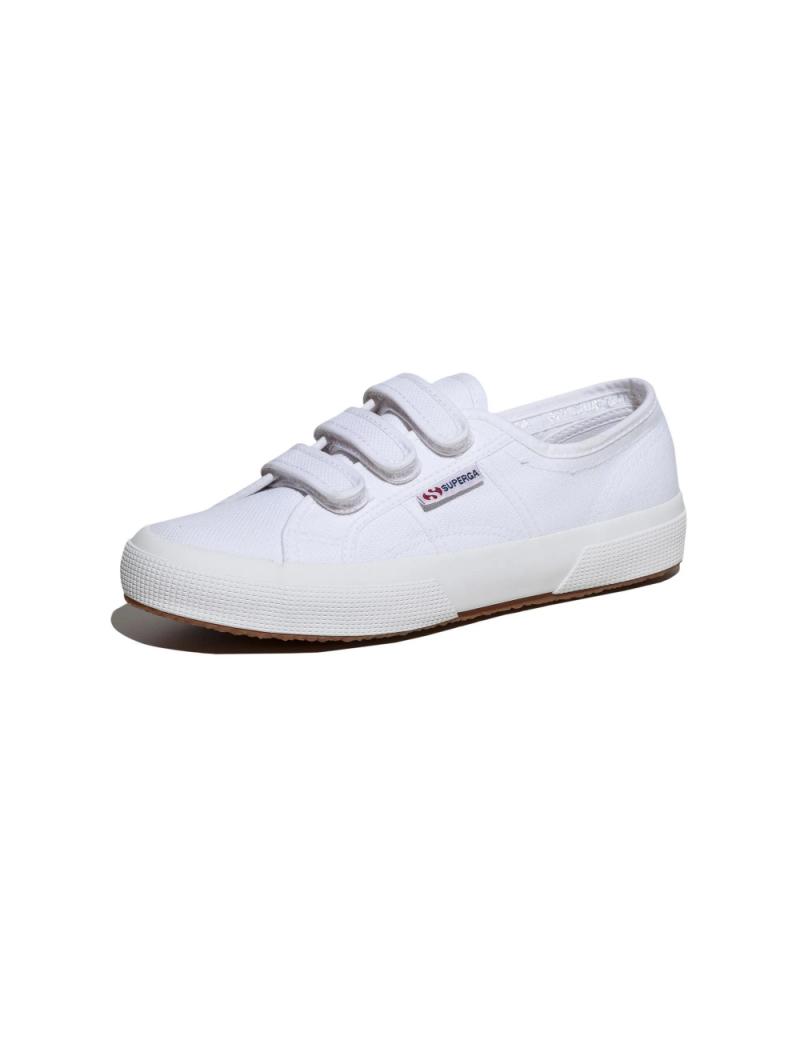 Superga 2750 Cotu Classic 3 Straps - White