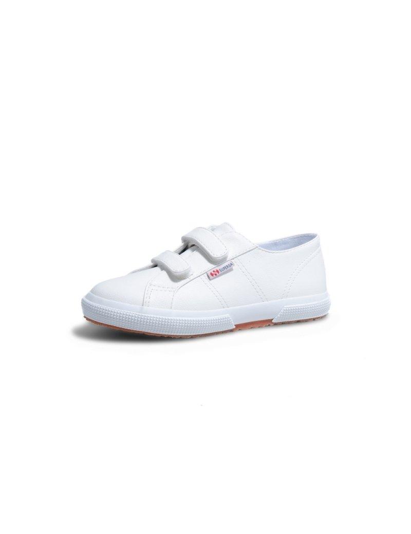 Superga Velcro Infantil - White